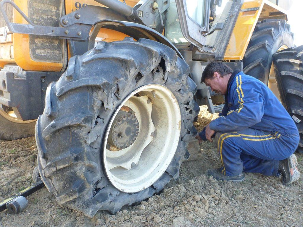 Agricultural Tyre Repair