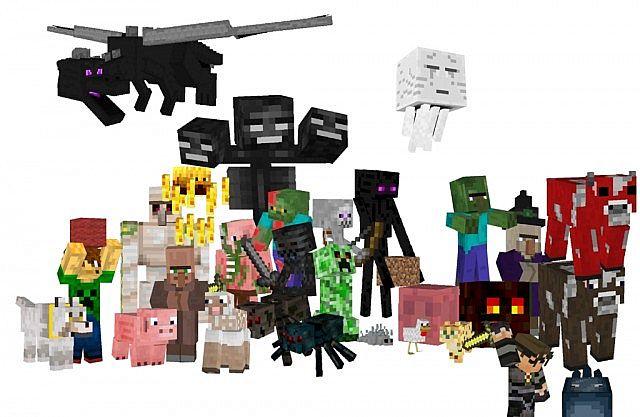 minecraft mob test